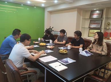 设计艺术学院赴南京考察装饰企业商讨校企合作